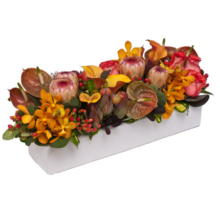Autumn Toned Grouped Table