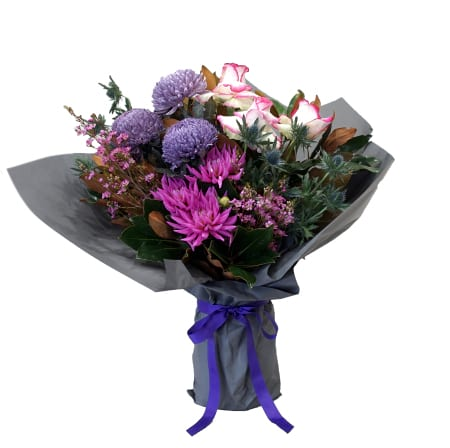 Premium Purple and Hot pink Bouquet