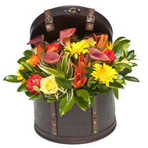 Burst of Colour (Large Hat Box)
