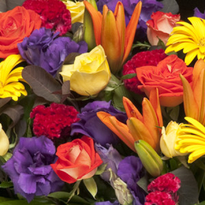 Florist Choice (vibrant colours) bouquet
