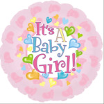 It`s A Baby Girl Round